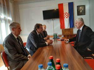 Službeni posjet dr. sc. Dragana Čovića Demokratskom savezu Hrvata u Vojvodini