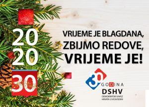 Čestitka predsjednika Demokratskog saveza Hrvata u Vojvodini za Novu 2020. godinu