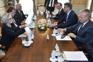 Vodstvo hrvatske zajednice na sastanku s predsjednikom Vlade Republike Hrvatske Andrejom Plenkovićem