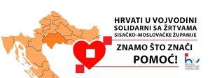 Za tri radna dana prikupljeno više od pola milijuna dinara za stradale u potresu u Hrvatskoj