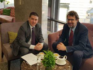 Predsjednikom DSHV-a susreo se u Beogradu s hrvatskim ministrom Olegom Butkovićem