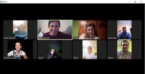 Online sjednica Predsjedništva Mladeži DSHV-a
